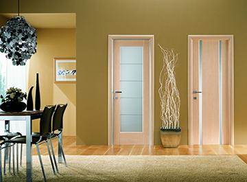 Двери шпон файн-лайн – хорошая альтернатива массиву